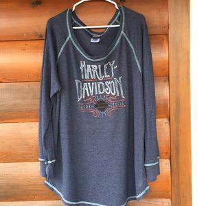 Harley Davidson Thermal T-shirt 2X